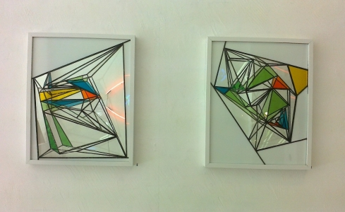 Mark Wotherspoon: Reflected Self Nos 1 and 2