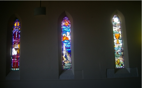 Three new windows at Merwether Anglican Church