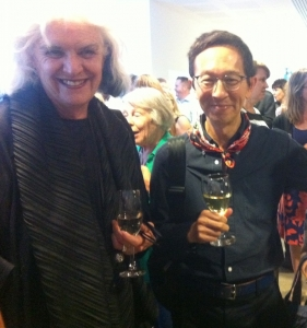 Liz Williamson with Roger Leong