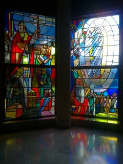 Chapel windows, LHS