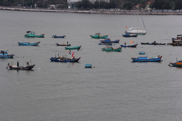 Fishing boats, Vung Tao