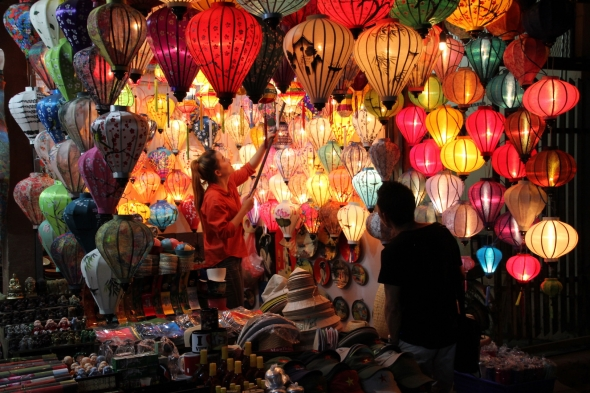 Lanterns, Hoi An markets
