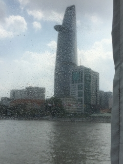 Banking tower, from Saigon River